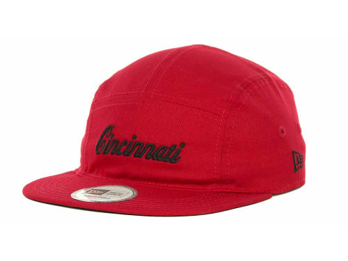 Cincinnati Reds New Era MLB 5 Star Panel Adjustable Cap Hats