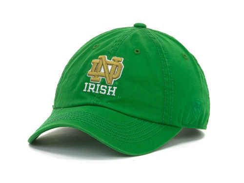 Notre Dame Fighting Irish Top of the World NCAA Crew Adjustable Cap Hats