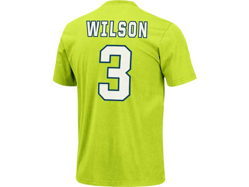 Seattle Seahawks Russell Wilson VF Licensed Sports Group NFL Men's Eligible Receiver T-Shirt