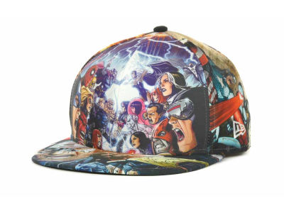 Marvel Character AvX All Over Official 59FIFTY Cap Hats
