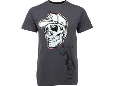 New Era Skull Stencil T-Shirt