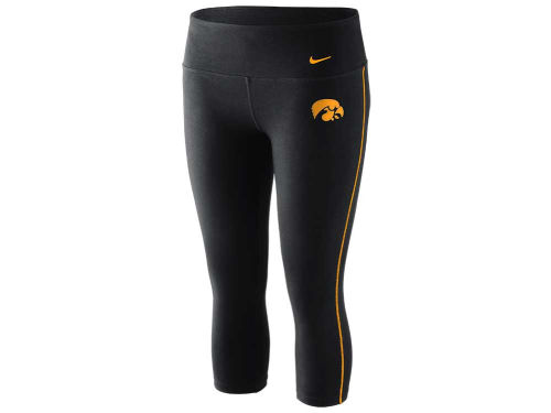 Iowa Hawkeyes Nike NCAA Womens Dri-Fit Capri