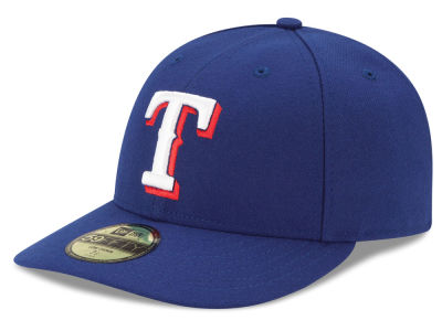 Texas Rangers MLB Low Crown AC Performance 59FIFTY Cap Hats