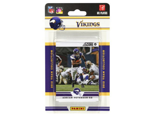 Minnesota Vikings NFL Team Set 2012