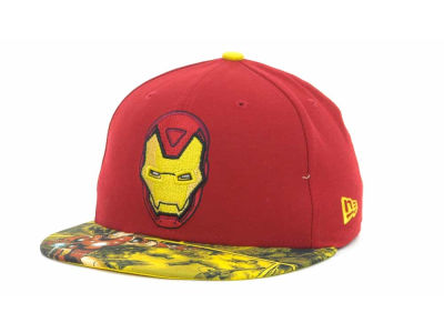 Marvel Ironman Visor Story 2 59FIFTY Cap Hats