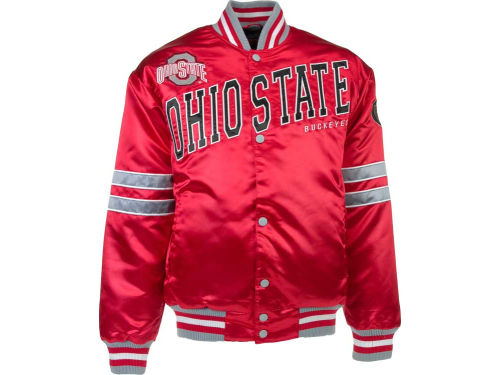 Ohio State Buckeyes NCAA Dash Satin Jacket