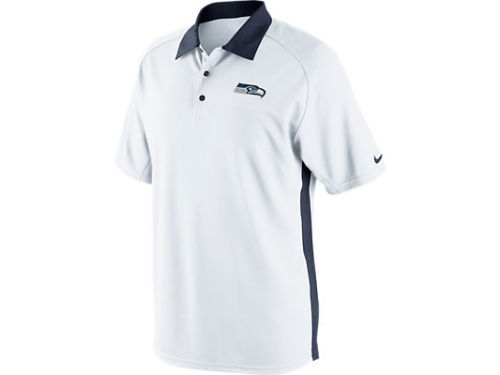 Seattle Seahawks Nike NFL Coaches 2 Polo