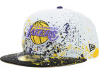 Los Angeles Lakers New Era NBA Splatter 59FIFTY Cap Fitted Hats