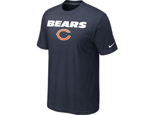 Chicago Bears Nike NFL Base Authentic Logo T-Shirt