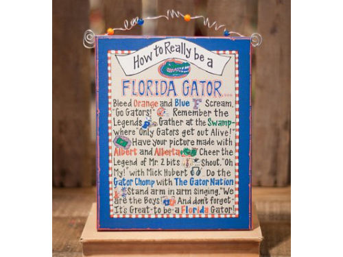 Florida Gators How To Be Beaded