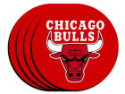 Chicago Bulls Neoprene Coaster Set 4pk Kitchen & Bar