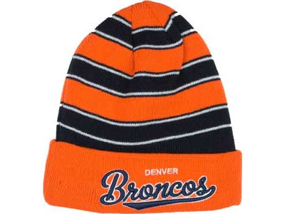 Denver Broncos NFL Bandwidth Knit Hats