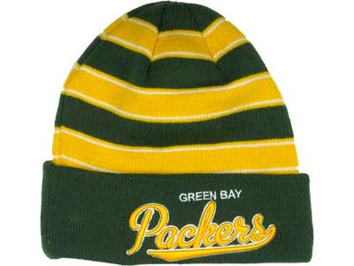 Green Bay Packers NFL Bandwidth Knit Hats