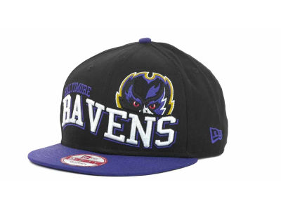 Baltimore Ravens NFL Wave Snapback 9FIFTY Cap Hats