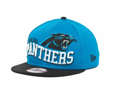 Carolina Panthers NFL Wave Snapback 9FIFTY Cap Hats