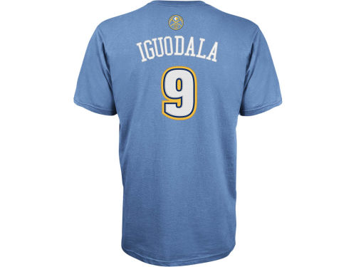 Denver Nuggets Andre Igoudala NBA Player T-Shirt