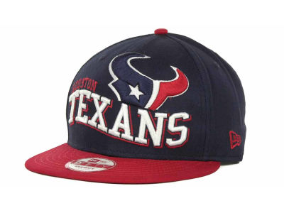 Houston Texans NFL Wave Snapback 9FIFTY Cap Hats