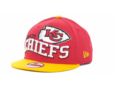 Kansas City Chiefs NFL Wave Snapback 9FIFTY Cap Hats
