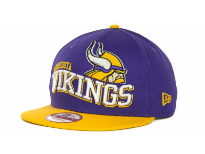 Minnesota Vikings NFL 2013 Logo Change 9FIFTY Cap Hats