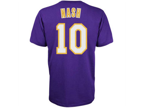 Los Angeles Lakers Steve Nash NBA Player T-Shirt