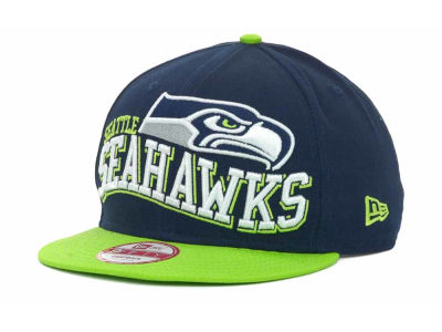 Seattle Seahawks NFL Wave Snapback 9FIFTY Cap Hats