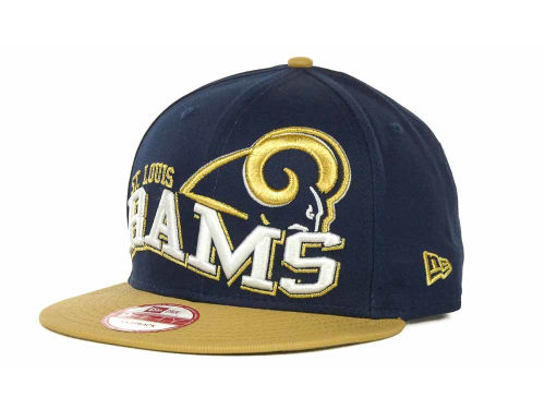 St. Louis Rams New Era NFL Wave Snapback 9FIFTY Cap Hats