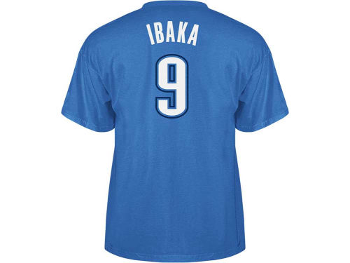 Oklahoma City Thunder Serge Ibaka NBA Player T-Shirt