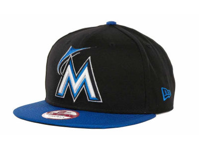 Miami Marlins MLB Listic Pop Strapback 9FIFTY Cap Hats