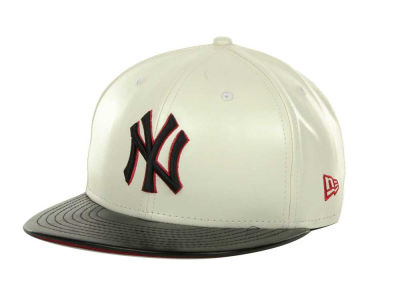 New York Yankees MLB Leather DC 9FIFTY Cap Hats