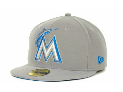 Miami Marlins MLB Pop Basic 59FIFTY Cap Hats