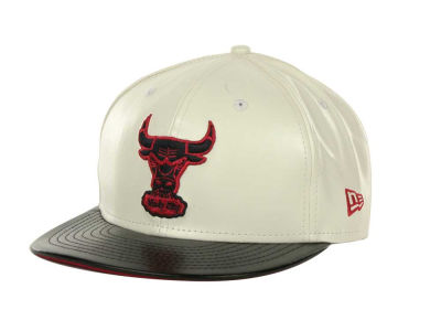 Chicago Bulls NBA Hardwood Classics Leather DC 9FIFTY Cap Hats