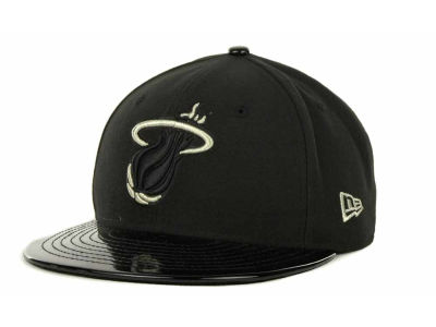 Miami Heat NBA Hardwood Classics Patallic 59FIFTY Cap Hats