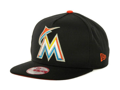 Miami Marlins MLB Flip Up A-Frame 9FIFTY Cap Hats