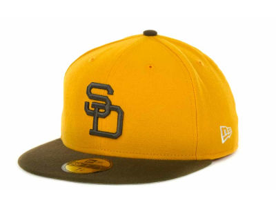 San Diego Padres MLB Side Patch 59FIFTY Cap Hats