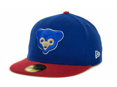 Chicago Cubs MLB Side Patch 59FIFTY Cap Hats