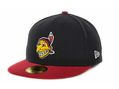 Cleveland Indians MLB Side Patch 59FIFTY Cap Hats