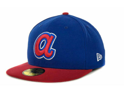 Atlanta Braves MLB Side Patch 59FIFTY Cap Hats