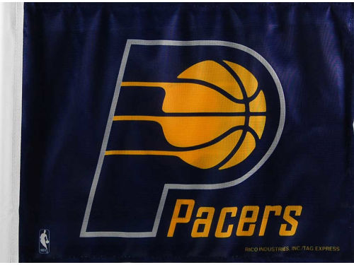 Indiana Pacers Rico Industries Car Flag