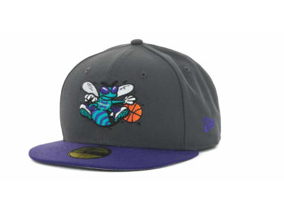 Charlotte Hornets NBA Hardwood Classics Graph TC 59FIFTY Cap Hats