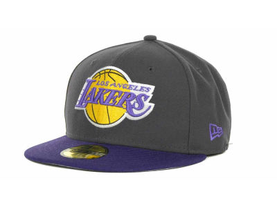 Los Angeles Lakers NBA Hardwood Classics Graph TC 59FIFTY Cap Hats