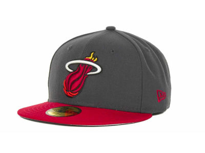 Miami Heat NBA Hardwood Classics Graph TC 59FIFTY Cap Hats