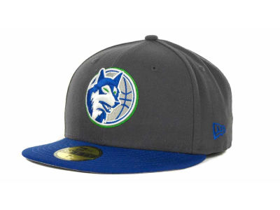 Minnesota Timberwolves NBA Hardwood Classics Graph TC 59FIFTY Cap Hats