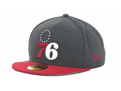 Philadelphia 76ers NBA Hardwood Classics Graph TC 59FIFTY Cap Hats