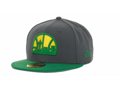 Seattle SuperSonics NBA Hardwood Classics Graph TC 59FIFTY Cap Hats