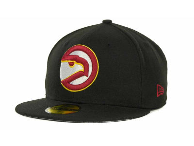 Atlanta Hawks NBA Hardwood Classics Basis 59FIFTY Cap Hats