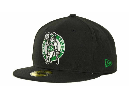 Boston Celtics New Era NBA Hardwood Classics Basis 59FIFTY Cap Hats