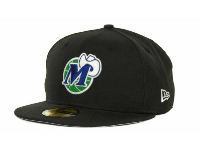 Dallas Mavericks NBA Hardwood Classics Basis 59FIFTY Cap Hats