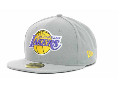 Los Angeles Lakers NBA Hardwood Classics Basis 59FIFTY Cap Hats