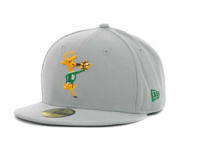 Milwaukee Bucks NBA Hardwood Classics Basis 59FIFTY Cap Hats