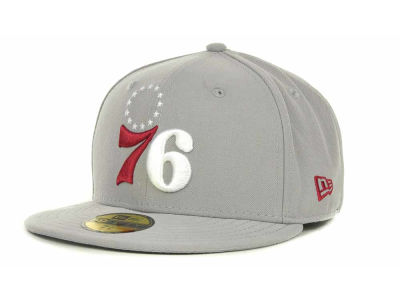 Philadelphia 76ers NBA Hardwood Classics Basis 59FIFTY Cap Hats
